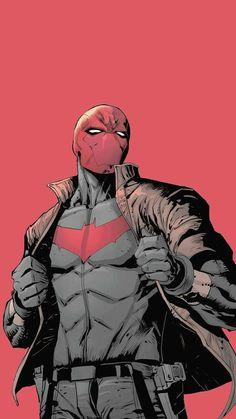 Red Hood Comic, Red Hood Dc, Batman Red Hood, Dc Comics Superheroes, Dc Comics Characters, Dc Comics Art, Red Hood Wallpaper, Hood Wallpapers, Red Hood Jason Todd
