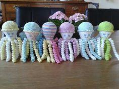 Deze inktvisjes zijn gemaakt door Willy Hoogland.
