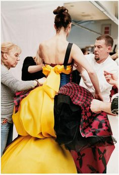 http://www.fastcodesign.com/3038308/20-intimate-photos-of-alexander-mcqueen-at-work