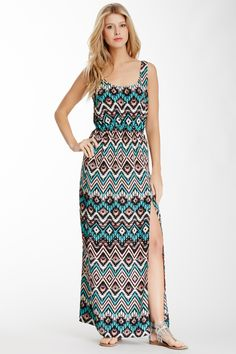 LOVE...ADY Printed Maxi Dress | Nordstrom Rack