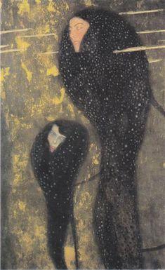 Water Nymphs (Silverfish), c.1899 - Gustav Klimt