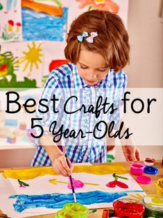 13 Easy Art Activities For Your 5 Year Old   The One-Stop DIY Shop   Art activities, Crafts for ...