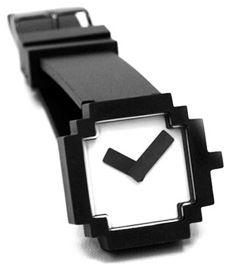 8-bit style pixel watch