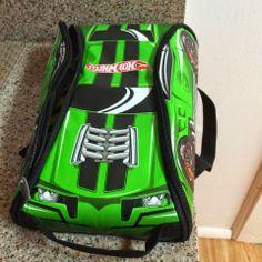 Neat-Oh!® Hot Wheels™ ZipBin® 45 Car Crash Racer Backpack w/ Car