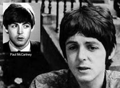 """""""Am I really that guy that is in the same body that I am inhabiting?"""" - Paul McCartney // pictured left before 1966, right after 1967"""