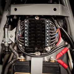 Description Details Specs Manual Videos The Motogadget m-Unit is the COMPLETE solution to your electrical woes... If you ride and thusly work on/repair your own vintage or custom motorcycle then you a