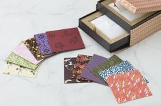 Hotel Palace Tokyo's Sweets & Deli store are producing a set of chocolates inspired by Edo Period crafts. Chiyo Choco takes its name from chiyogami — elaborately stencil-printed washi paper that was often used as decorative origami.