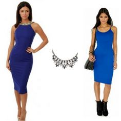 da2c0fbcf62 Where did Lucy Mecklenburgh get her embellished blue dress worn in season 3 episode  1 of TOWIE?