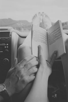 A perfect day would be a day where we leave for a long car ride and I wouldn't have to drive. I would just read and enjoy the road!