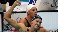 Dana Vollmer of the United States claimed gold and set a new world record in the women's 100m Butterfly final.