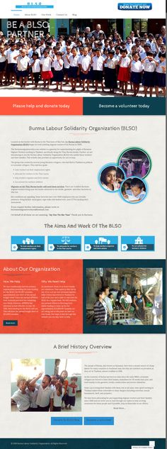 New website for Burmese Migrant Workers Organisation in Mae Sot, Thailand. Migrant Worker, Portfolio Web Design, Burmese, Thailand, Website, Organisation