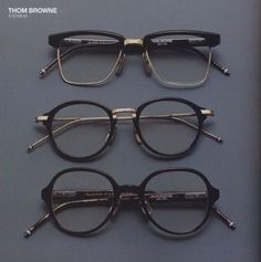 Thom Browne Optical Glasses, love the square wayfarer