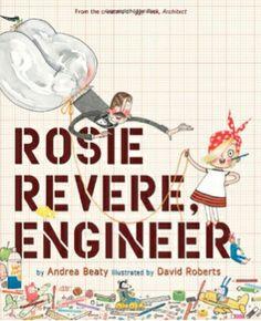 Books that encourage scientific thinking & engineering.