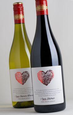 I Love Shiraz - #vino #wine #naming #packaging