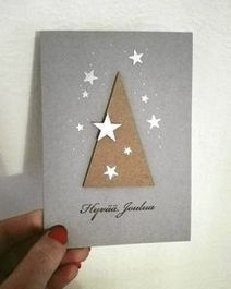You are going to be needing two cards. Handmade cards are an amazing means to spread some holiday cheer to your family members. A handmade card is an . Homemade Christmas Cards, Handmade Christmas, Homemade Cards, Xmas Cards Handmade, Christmas Makes, Christmas Time, Plaid Christmas, Christmas Wrapping, Simple Christmas