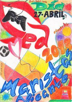 Cartel ganador del Concurso SED 2013. Autora: TERESA GIMENO ALCAÑIZ, 1º de ESO-C. ¡Enhorabuena!