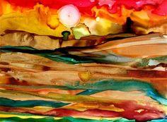 """""""Fruited Plain"""" - Original Fine Art for Sale - © Kristen Dukat"""