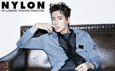 """Park Hae Jin Emits Cool and Rebellious Charisma in """"Nylon"""" Pictorial"""