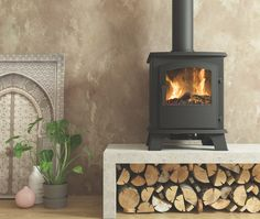 Be Modern Ohio Solid Fuel Solid Fuel Stove, 5 kW - B&Q for all your home and garden supplies and advice on all the latest DIY trends