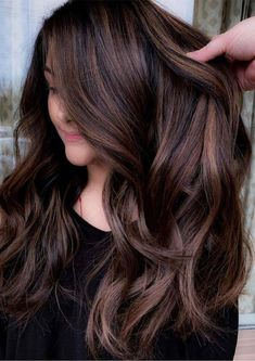 Top 30 Hair Color Trends for 2019 Brunette, color balayage brunette Best Brunette Hair Color, 30 Hair Color, Summer Hair Color For Brunettes, Pretty Hair Color, Hair Color Shades, Brown Hair Colors, Highlights For Brunettes, Winter Hair Colors, Brunette Hair With Highlights