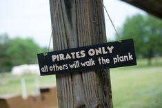 Pirate Party ~ the boys are going to love this Birthday Party!