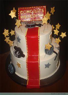 Movie B Day Cake