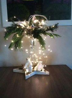 Bildergebnis für kerststuk - New Ideas Christmas Candles, Christmas Centerpieces, Rustic Christmas, Xmas Decorations, Winter Christmas, Christmas Home, Christmas Wreaths, Christmas Ornaments, Christmas Projects
