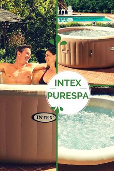 Intex purespa inflatable hot tub