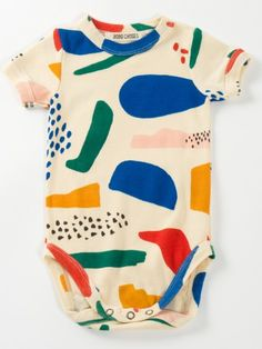 Bobo Choses Matisse Short Sleeve Baby Body - Trouva