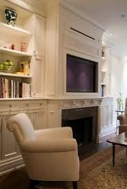 designing a focal wall with a fireplace and large flat screen tv - Google Search