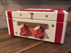 Personalised Christmas Eve Box with stockings christmas eve
