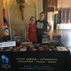 #ispyapi #Budapest #studyabroad alumni @theplouffeeeee at @salveregina