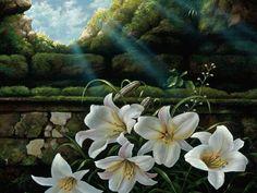 Beautiful Paintings of Butterflies | papel de parede Flores