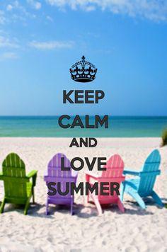 Keep Calm Summer Is Here 25 #amidsummerknitsdream #loveknittingcom | Keep  Calm | Pinterest