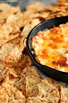 Buffalo Chicken Dip- This easy to make Buffalo Chicken Dip is sure to be a huge hit at your next gathering. Whip up a batch, or two, today!