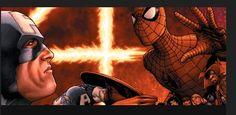 Captain and Spider-Man - Civil War °°