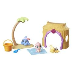 Littlest Pet Shop Beach Day Playset Shops, Little Pet Shop, Beach Day, Minis, Crafts For Kids, Pets, Diy, Aurora, Shopping