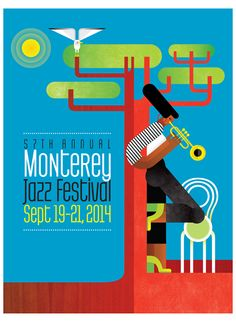 57th annual Monterey. Jazz Festival. 19-21/9/2014