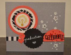 Lenky & Verzickt: INN{K}SPIRE_me Challenge #185 - Celebrate Graduation, Mein Lichtblick, Celebrate Today, Jede Menge Liebe, Athrazitgrau, Graduation, Stampin' Up!