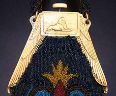 Sphinx celluloid purse