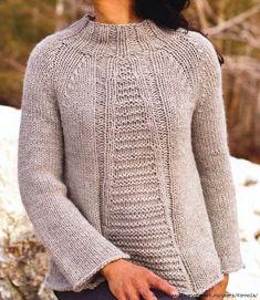 """Пуловер """"Кварц"""" от Норы Гоган"""
