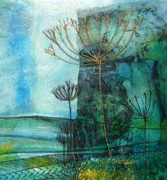 Rosemarie Taylor Paper Fabric piece - Garden series