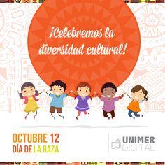 Celebremos la diversidad! Feliz día de la Raza #DiaDeLaRaza #Diversidad