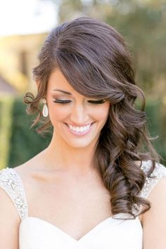30 Captivating Wedding Hairstyles For Medium Length Hair ❤ It's naturally for brides to feel worrying while preparations for wedding celebration. We collected beautiful wedding hairstyles for medium length hair. See more: http://www.weddingforward.com/wedding-hairstyles-length-medium-hair/
