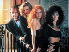 Michelle Pfeiffer, Susan Sarandon and Cher in The Witches of Eastwick, 1987
