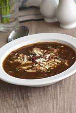 rode uien soep