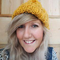 Autumn fashion, bobble hats in my favourite colour mustard