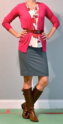 I'm thinking Rome skirts and boots for work this fall!