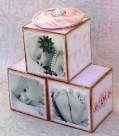 These are also a great idea to use those adorable newborn photos, or commemorate a birthday!