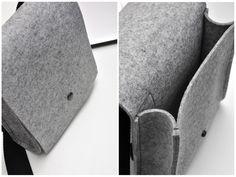 linientreu+Tasche+N°+2+aus+Filz+-+Filztasche+von+linientreu.+auf+DaWanda.com